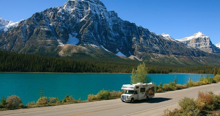 Ontdek het Banff National Park met een camper van Cruise Canada